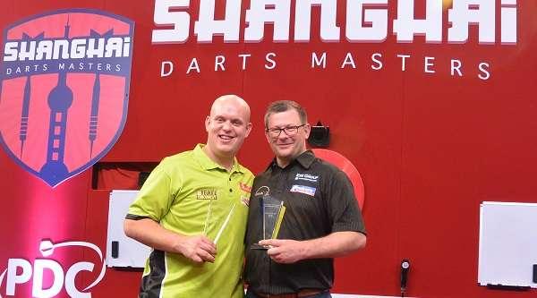 Michael Van Gerwen wins Shanghai Masters