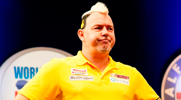 Peter Wright at the Tokyo Darts Masters