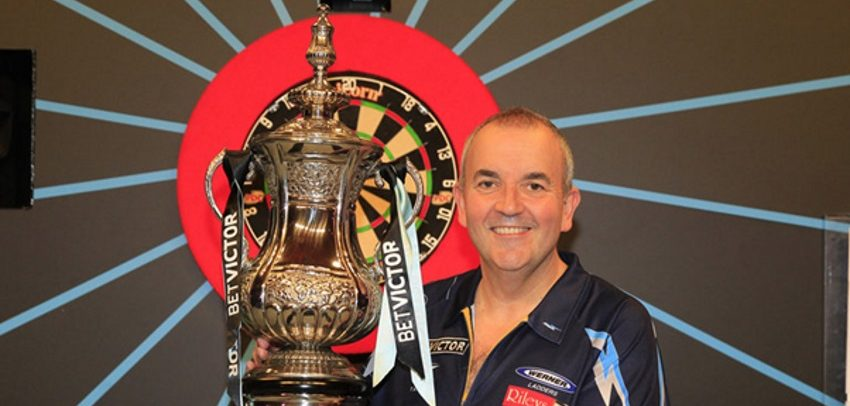 Phil 'The Power' Taylor Wins His 16th Matchplay Title In Final Blackpool Performance
