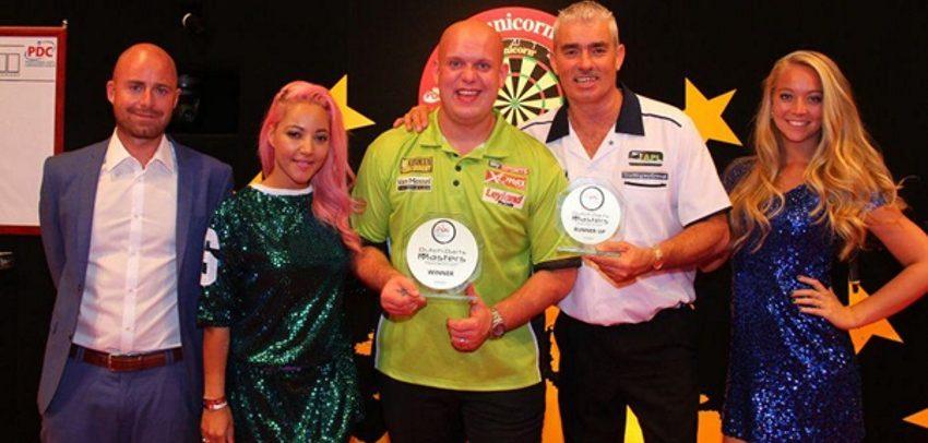 Michael van Gerwen Wins Fourth Straight Dutch Darts Masters