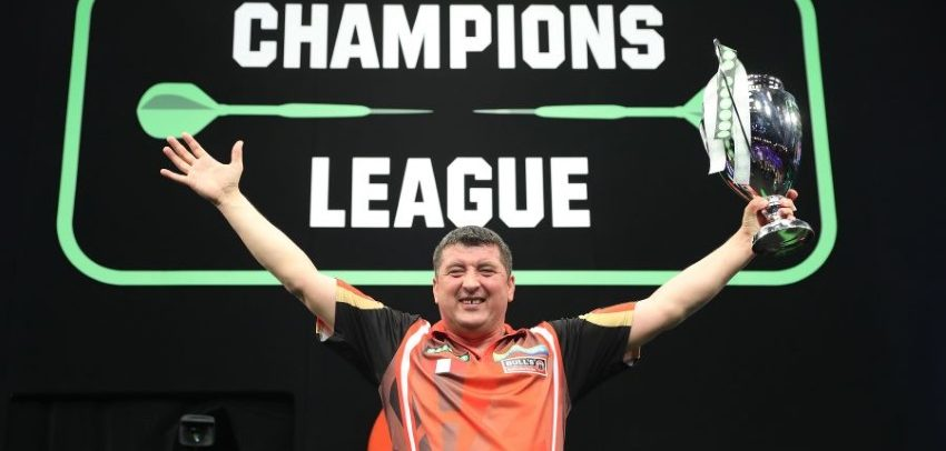 40/1 Outsider Mensur Suljovic Wins Champions League Of Darts