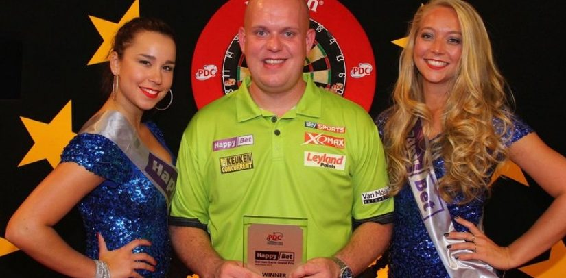 Michael Van Gerwen To Win The Champions League Of Darts