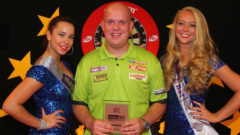 Michael Van Gerwen Champions Wins Champions League of Darts