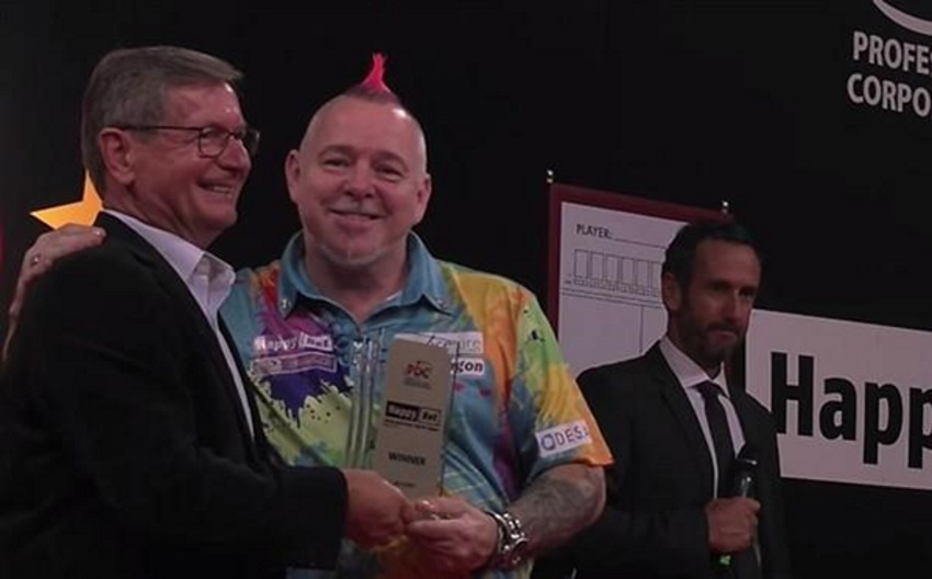 Peter Wright Wins 10th Title of the Year