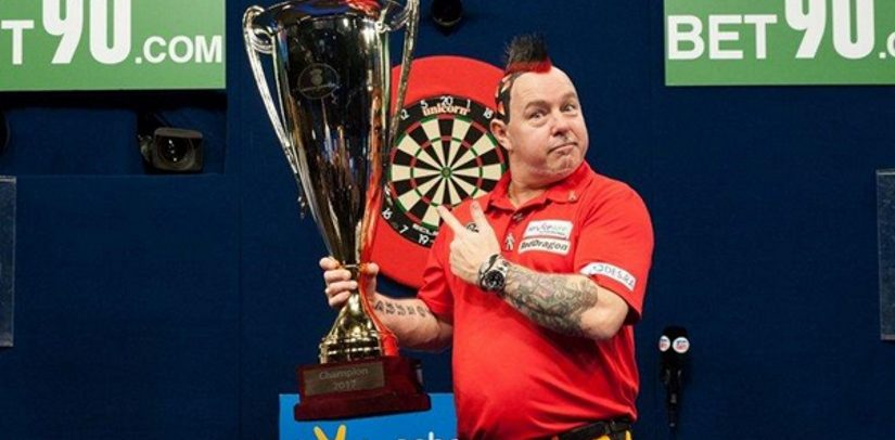 Peter Wright Wins World Series Of Darts Title In Dusseldorf