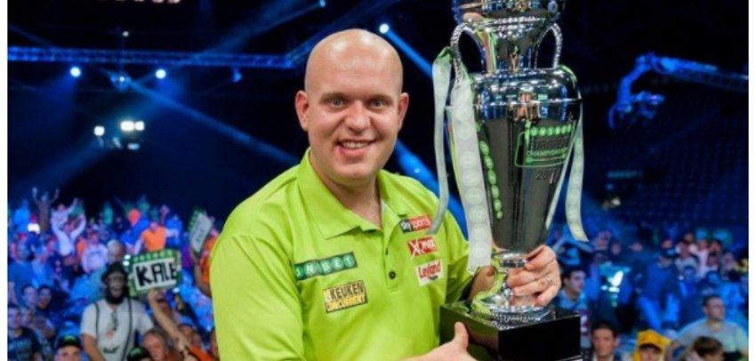 Michael van Gerwen Claims Fourth Successive European Championship