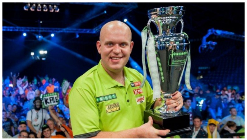 Michael van Gerwen Is European Championship Title Holder