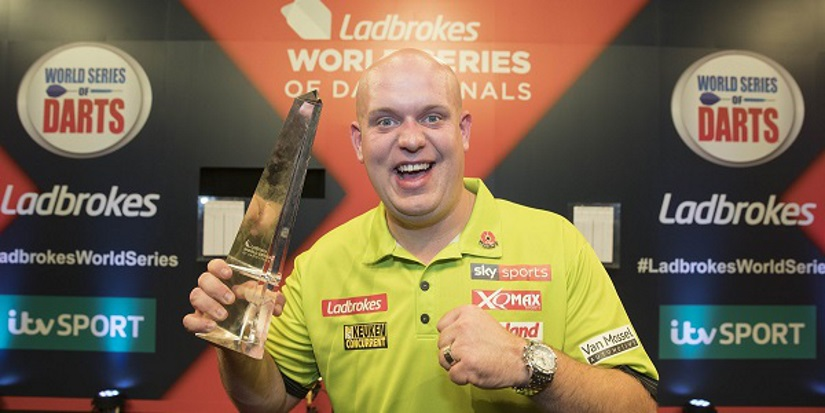 Michael van Gerwen World Series of Darts Win