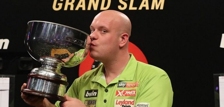 Mighty Michael van Gerwen wins Grand Slam of Darts