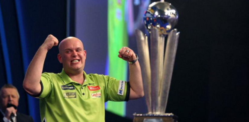 Michael van Gerwen Wins Players Championship Finals