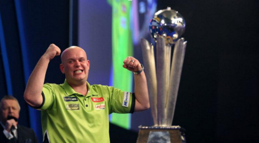 Michael Van Gerwen wins Players Championship