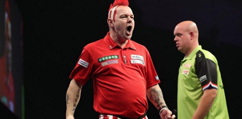 Peter Wright Beats Michael van Gerwen In Cardiff