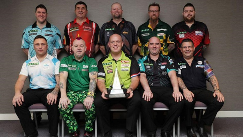 2018 Premier League Darts lineup