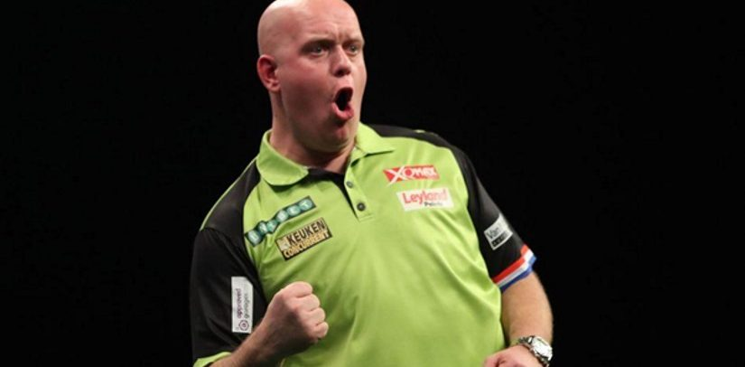 Michael van Gerwen Goes Top Of The Darts Premier League Following Win In Leeds