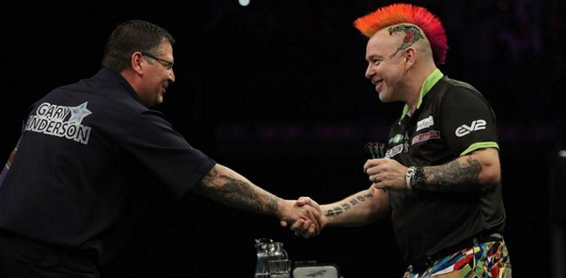 Flying Scotsman Gary Anderson Dents Peter Snakebite Wright's League Hopes