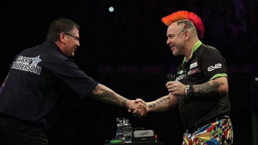 Gary Anderson Beats Peter Wright