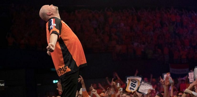 Barney Beats Michael van Gerwen In Holland