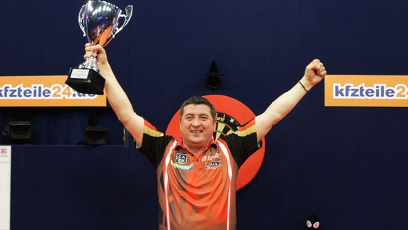 Mensur Suljovic World Series of Darts