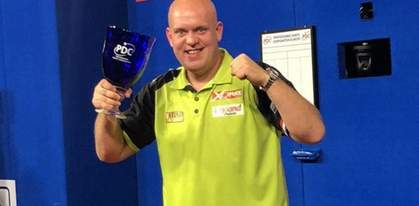 Michael van Gerwen Wins In Gibraltar