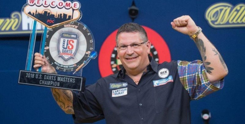 US Darts Masters: Gary Anderson Defeats Rob Cross To Land The Title In Las Vegas