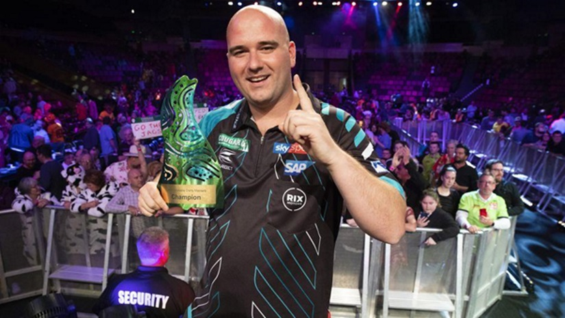 Rob Cross Brisbane World Series Darts