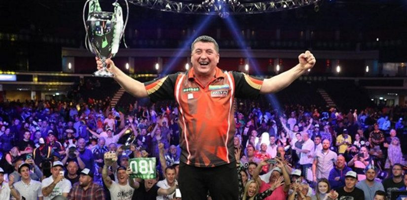 Mighty Mike Favourite For Champions League of Darts