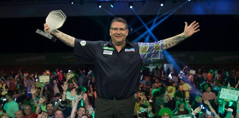 Gary Anderson Wins Champions League Of Darts For The First Time