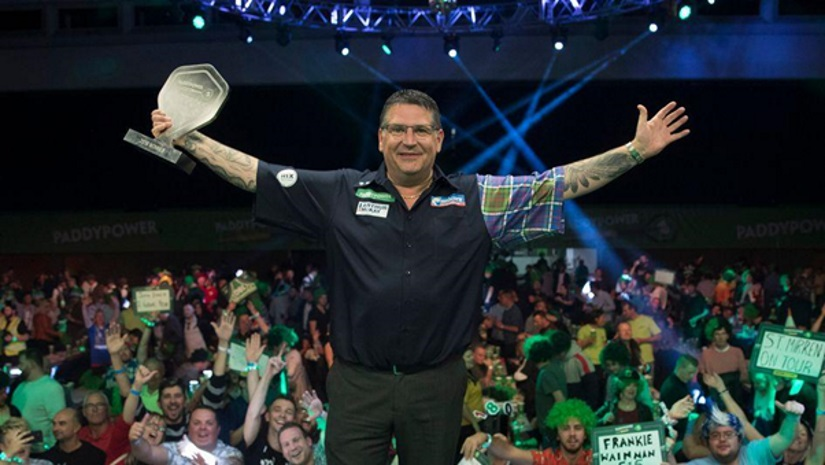 Gary Anderson Champion League of Darts