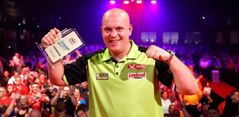 European Darts Trophy Won By Michael van Gerwen
