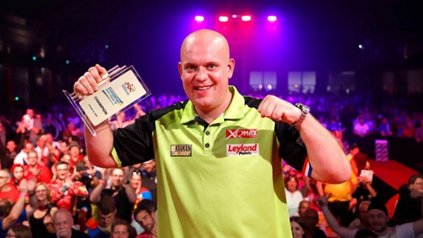 Michael Van Gerwen European Darts Trophy