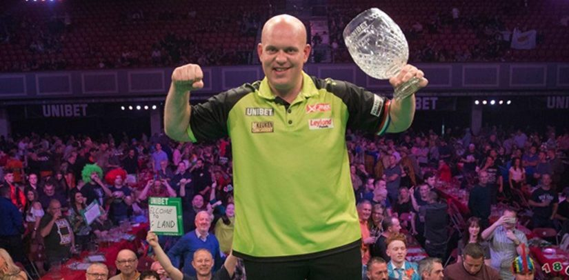 Michael van Gerwen Wins The World Grand Prix In Dublin