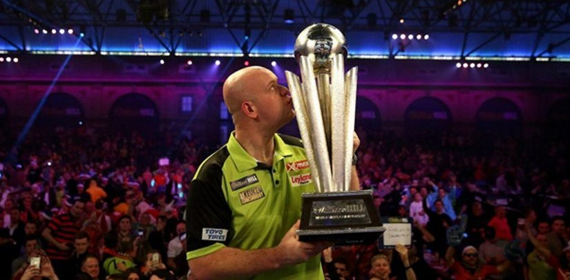 Michael van Gerwen Wins Third PDC World Darts Championship