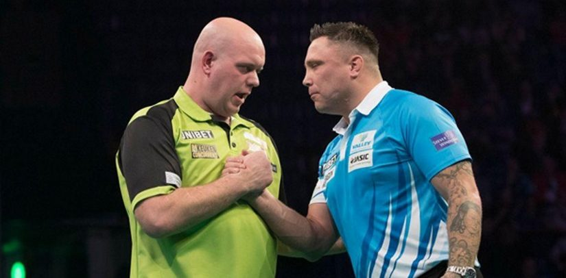 Michael van Gerwen Thrashes Gerwyn Price As Rob Cross Goes Top
