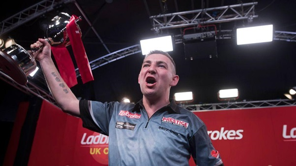 Nathan Aspinall Wins UK Open As Michael van Gerwen Loses Twice In As Many Days