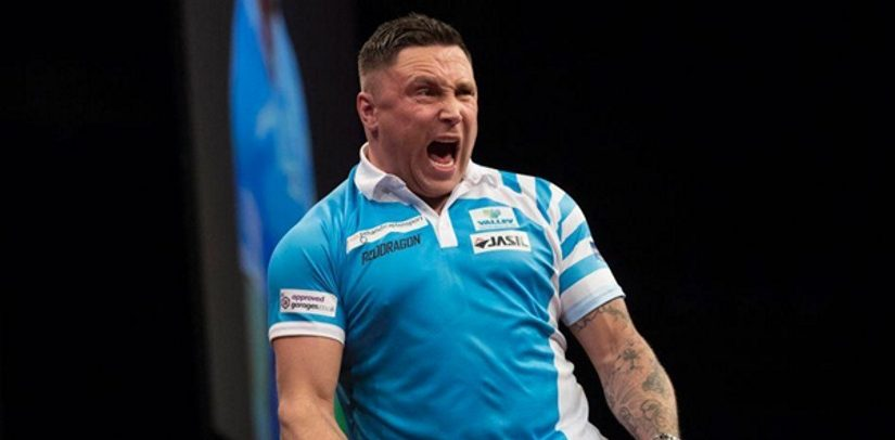 Gerwyn Price And Michael van Gerwen Win In Cardiff