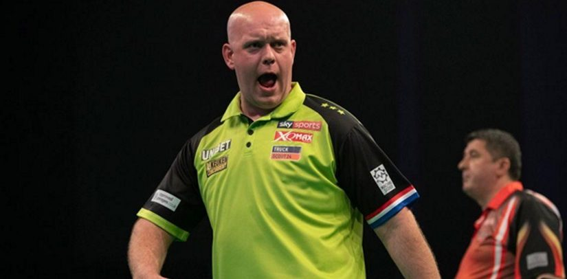 Michael van Gerwen Tops Darts Premier League, Next Stop London