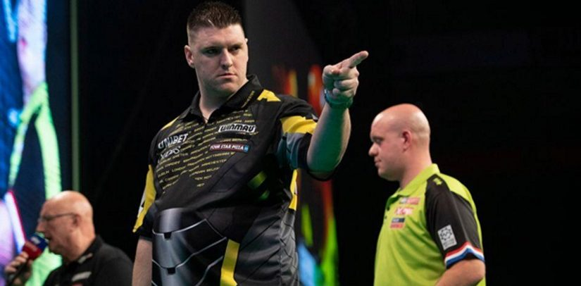 Rob Cross Goes On Top After Daryl Gurney Beats Michael van Gerwen – Again