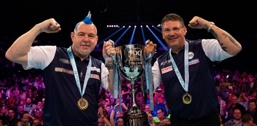 Scotland Win The World Cup Of Darts