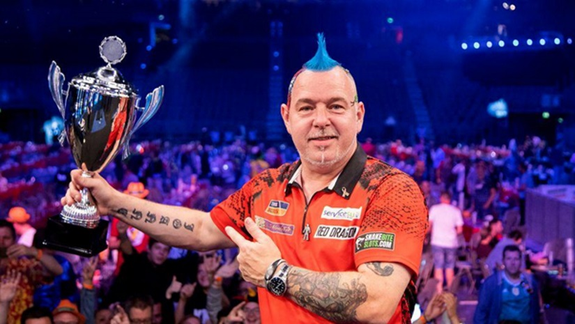 German Darts Masters Peter Wright