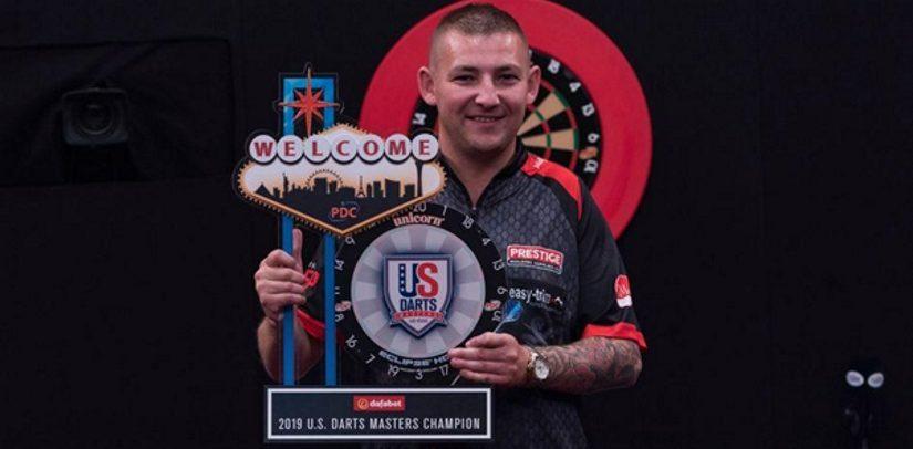 Nathan Aspinall Wins 2019 US Darts Masters In Las Vegas