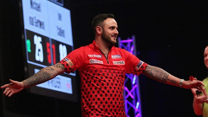 Joe Cullen European Darts