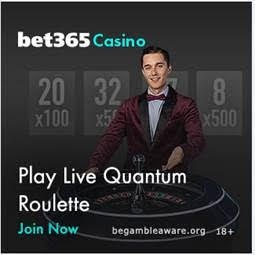 Playing Bet365 Live Quantum Roulette