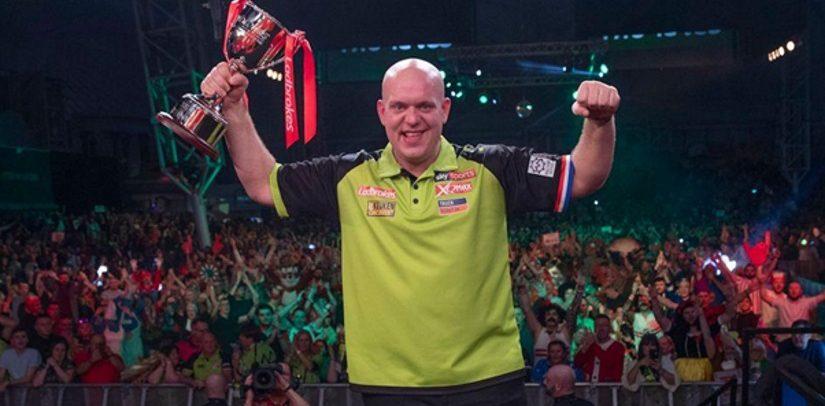 Michael van Gerwen Wins Players Championship Finals