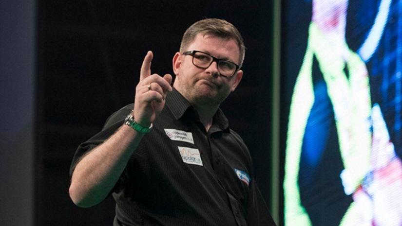 James Wade PDC World Championship Darts 2020