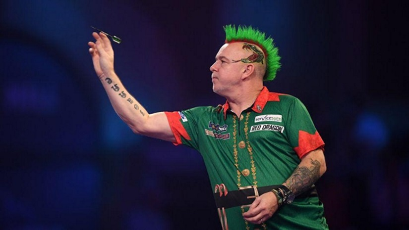 PDC Darts Peter Wright