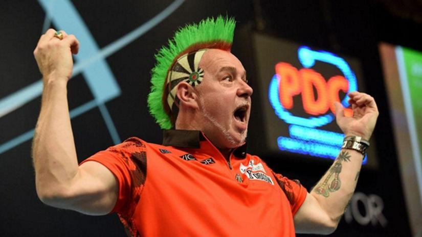 Peter Wright PDC World Championship Darts 2020
