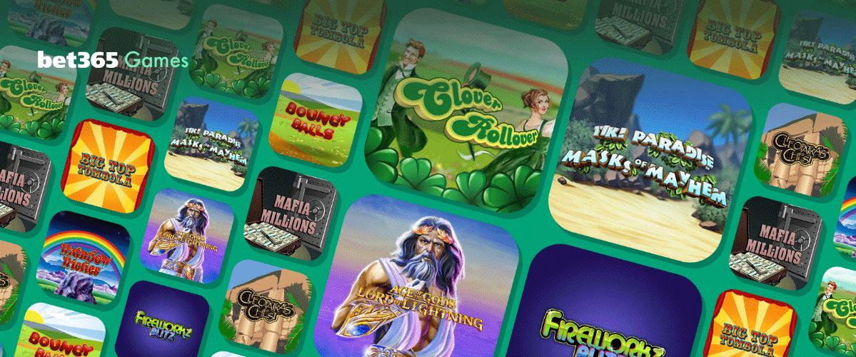 Bet365 Games Slots Giveaway April 2020