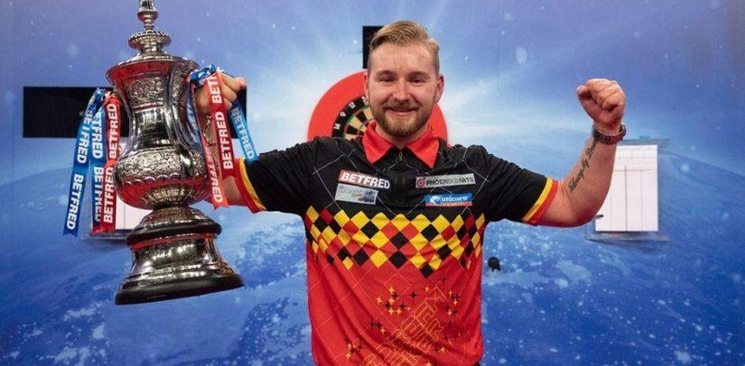 Dimitri van den Bergh Wins World Matchplay