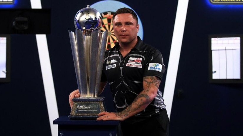 Gerwyn Price PDC World Championships 2021